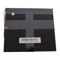 Литий-полимерный аккумулятор 2.8X115X130mm 3.7V 5000mAh