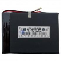 Литий-полимерный аккумулятор 3.8X65X90mm 3.7V 3800mAh