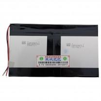 Литий-полимерный аккумулятор 3.4X130X77mm 3.7V 6000mAh