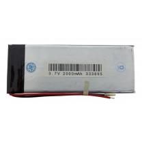 Литий-полимерный аккумулятор 3.3X38X95mm 3.7V 2000mAh
