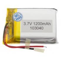 Литий-полимерный аккумулятор 10.0X30X40mm 3.7V 1200mAh