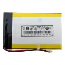 Литий-полимерный аккумулятор 3.2X56X87mm 3.7V 2300mAh