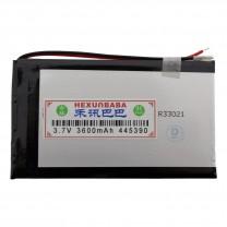 Литий-полимерный аккумулятор 4.4X53X90mm 3.7V 3600mAh