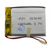 Литий-полимерный аккумулятор 3.0X30X40mm 3.7V 300mAh