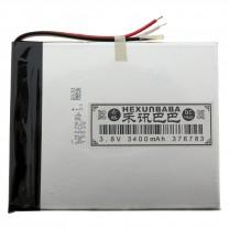 Литий-полимерный аккумулятор 3.7X67X83mm 3.8V 3400mAh