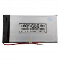 Литий-полимерный аккумулятор 3.4X49X96mm 3.7V 2800mAh