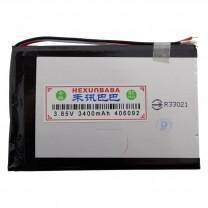 Литий-полимерный аккумулятор 4.0X60X92mm 3.85V 3400mAh
