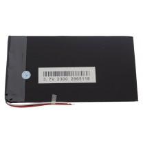 Литий-полимерный аккумулятор 2.8X65X118mm 3.7V 2300mAh