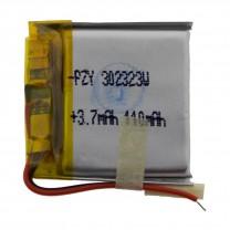 Литий-полимерный аккумулятор 3.0X23X23mm 3.7V 110mAh