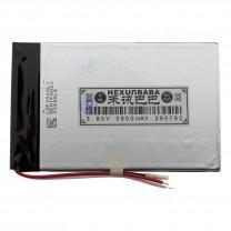 Литий-полимерный аккумулятор 3.9X57X92mm 3.8V 3900mAh