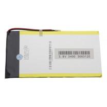 Литий-полимерный аккумулятор 3.0X63X120mm 3.7V 3400mAh