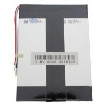 Литий-полимерный аккумулятор 3.3X78X105mm 3.7V 4000mAh