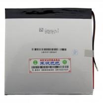 Литий-полимерный аккумулятор 3.4X103X101mm 3.85V 5600mAh