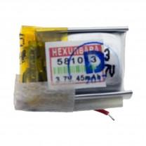 Литий-полимерный аккумулятор 5.8X10X13mm 3.7V 45mAh