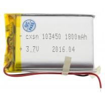 Литий-полимерный аккумулятор 10.0X34X50mm 3.7V 1800mAh