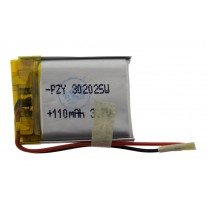 Литий-полимерный аккумулятор 3.0X20X25mm 3.7V 110mAh