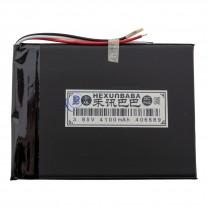Литий-полимерный аккумулятор 4.0X66X89mm 3.8V 4100mAh