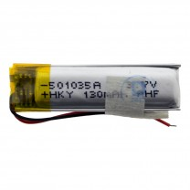 Литий-полимерный аккумулятор 5.0X10X35mm 3.7V 130mAh