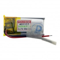 Литий-полимерный аккумулятор 4.0X11X19mm 3.7V 55mAh