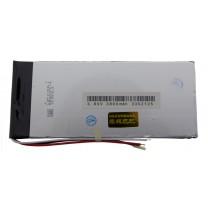 Литий-полимерный аккумулятор 3.3X52X125mm 3.7V 3800mAh