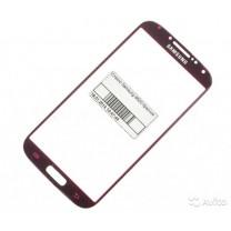 Стекло для дисплея Samsung Galaxy S4 i9500 красное