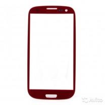 Стекло для дисплея Samsung Galaxy S3 i9300 красное