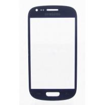 Стекло для дисплея Samsung Galaxy S3mini I8190 синее